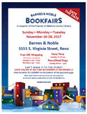 Barnes & Noble Bookfair - Click for more information.